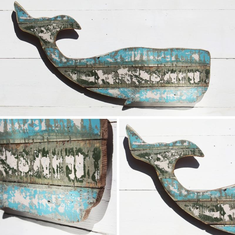 Whale Wall Art whale wall art decoration | wooden whale - buy the sea