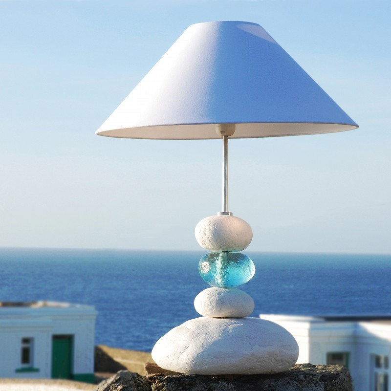 Aquamarine ocean wave table lamp pebble table lamp beach lamp aquamarine ocean wave table lamp pebble table lamp beach lamp buy the sea aloadofball Choice Image