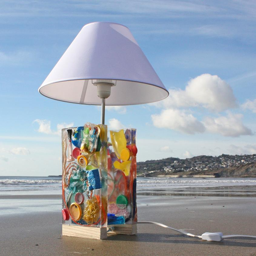 Clean Beach Table Lamp
