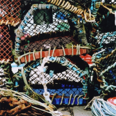 Lobster Pots - Coastal Card