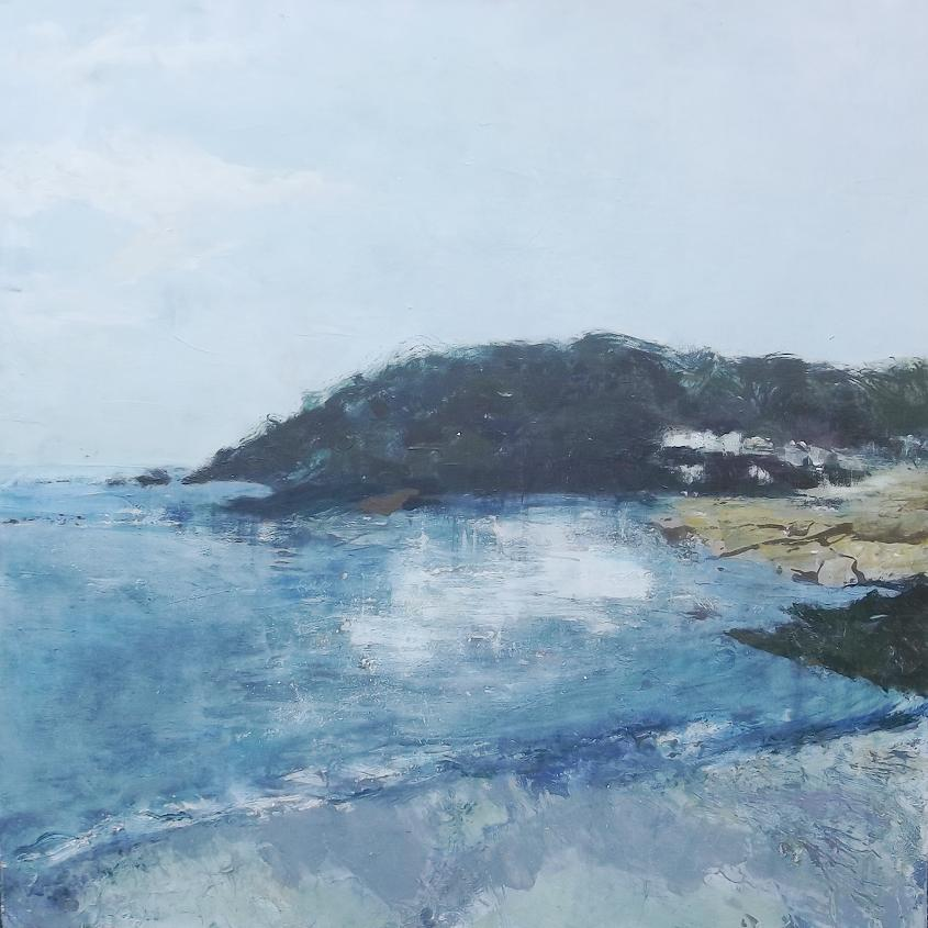 Salcombe North Sands | Original Painting | Abz Heywood