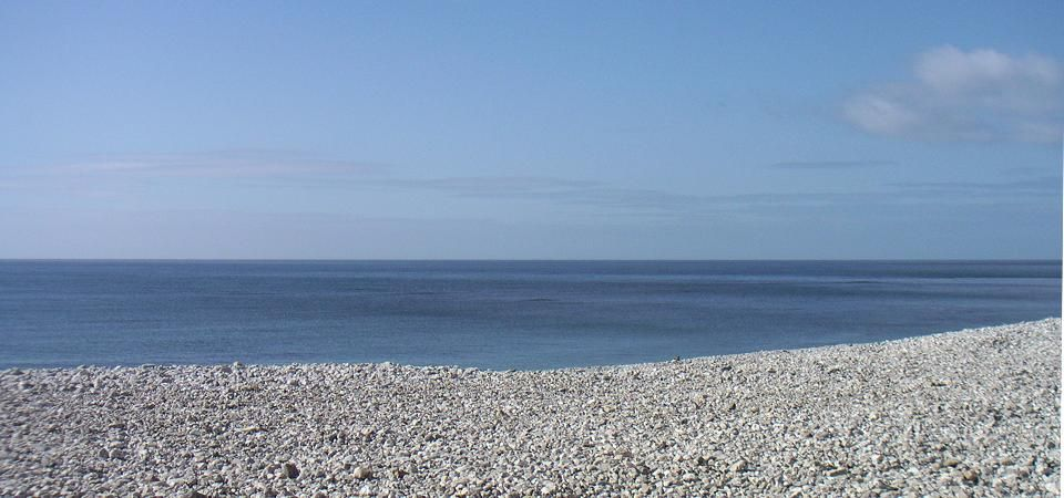 Coastal Kitchen Accessories Department - image of Calm Sea and Pebble Beach